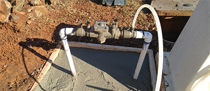 Backflow Prevention System Installation